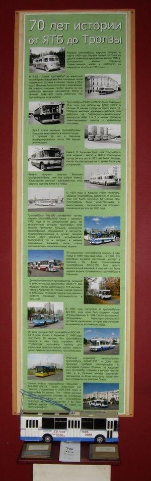 модель троллейбуса ЗиУ-9,