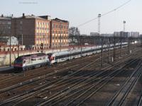 прибывает на станцию Харьков-Пассажирский
